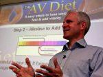 Andrew Bridgewater at AV Diet Seminar. 10/9/09Pic: Keith Blackham