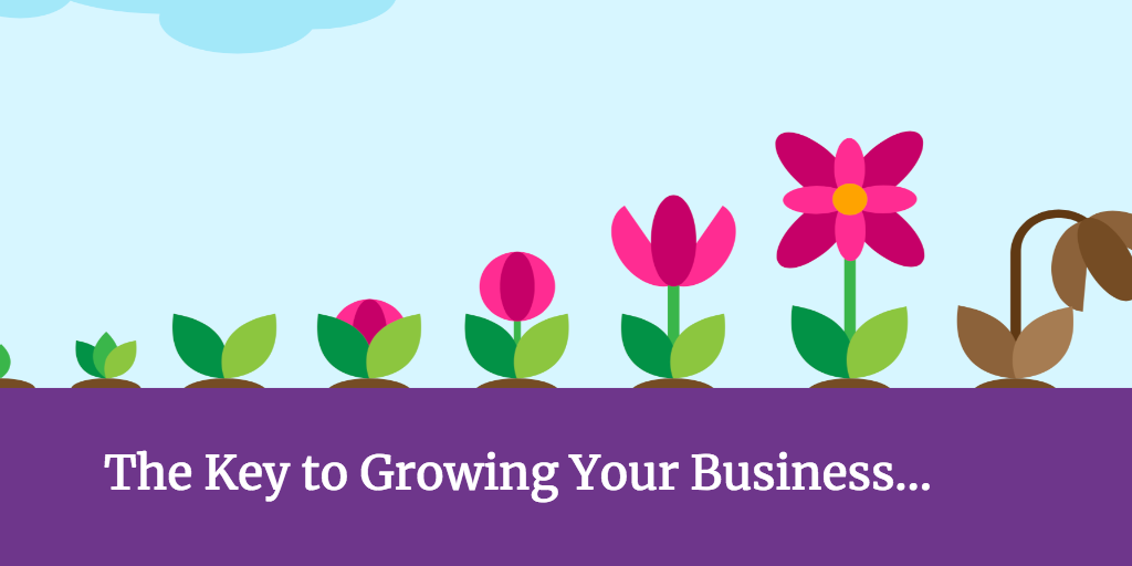 The Key To Successfully Growing Your Business Is…
